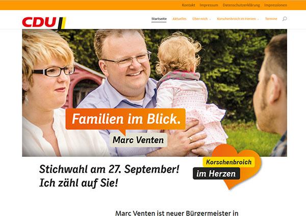 Marc Venten, Korschenbroich