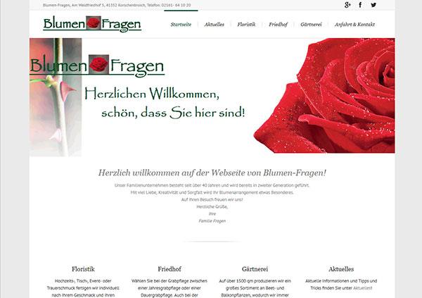 Blumen Fragen, Korschenbroich