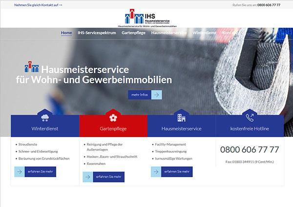 IHS-NRW, Hausmeisterservice